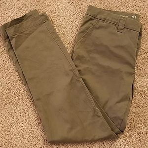 Gap Olive green khakis